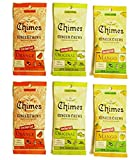 Chimes' Ginger Chews - Variety Pack - Original, Mango, and Orange (Pack Of 6)