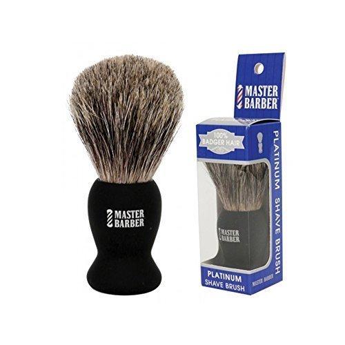 Master Barber Platinum Shave Brush by Master Barber
