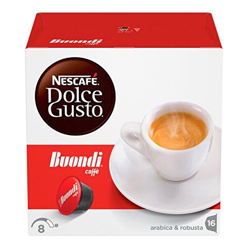 NESCAFÉ Dolce Gusto Espresso Buondì, Caffè Espresso, 3 Confezioni da 16 capsule (48 capsule)