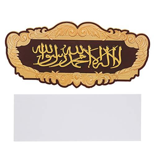 Muslimische Wandaufkleber Edge Wandtattoos Islamische Kunst Aufkleber Aufkleber Hausdekorationen Liefert Muslimische Lieferungen
