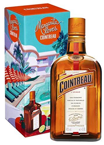 Cointreau Orangenlikör mit 40% vol. in der Margarita Geschenkpackung (1 x 0,7l) | Der perfekte Likör für Cocktails aus 100% natürlichen Zutaten