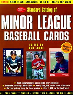 Standard Catalog of Minor League Baseball Cards: The Most Comprehensive Price Guide Ever Published