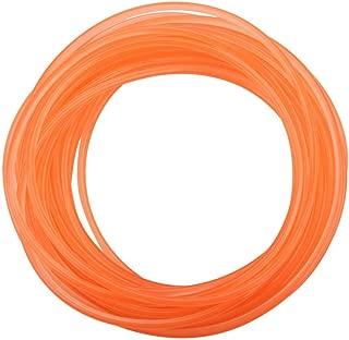 High-Performance Urethane Round Belting, PU Transmission Belt Polyurethane Round Belt for Drive Transmission Orange(4mm10m)