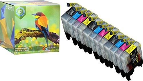 Ink Hero 12 confezioni di cartucce compatible per Brother di inchiostro per LC1240 DCP J525W J725DW J925DW MFC J430W J5910DW J625DW J6510DW J6710D J6710DW J6910DW J825DW