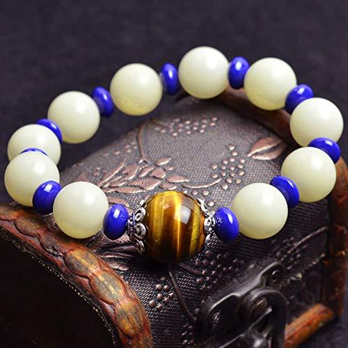 IFVCS Bodhi Armband nieuwe Trend Wit Bodhi Zaden Armband Voor Vrouwen Mannen Natuurlijke Kralen Handgemaakte Sieraden Boeddhisme Stijl