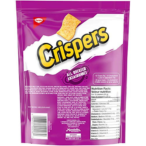Crispers Christie All Dressed, 175g/6.17 Ounces {Imported from Canada}