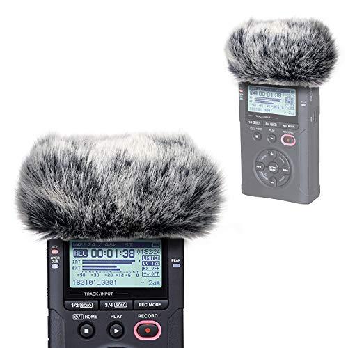 TASCAM DR-40X Fell-Windschutz - Windschutz Muff Rausfiltert Windgeräuschen von YOUSHARES