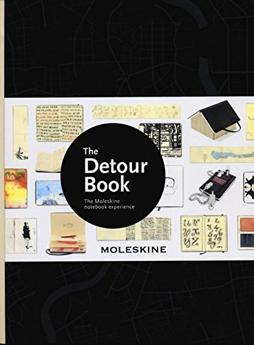 Moleskine Bücher / The Detour Book / XLarge / Schwarz (Design and Architecture Books)