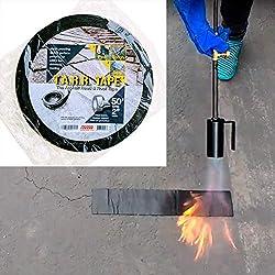 """commercial 50ft x 2 """"TARR tape to fill cracks and seams in asphalt concrete asphalt crack fillers"""