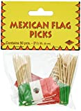 Beistle Mexican Flag Picks 2.5...