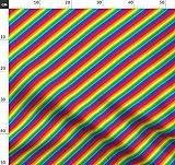 Regenbogen, Diagonale, Schrägstreifen, Schwul, Stolz,