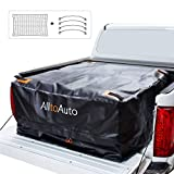 AlltoAuto Truck Bed Cargo Bag with Cargo Net, 100% Waterproof 600D Heavy Duty, Fits Any Truck Size(51''x40''x22'' ) 26 Cubic Feet, Simple and Convenient for Installation…
