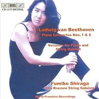 Beethoven: Piano Concertos Nos.1 & 2 by Fumiko Shiraga (2001-02-27)