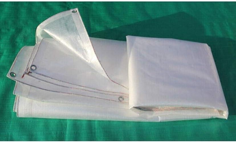 Parasol multifonctionnel FJZ Baches Transparentes Baches Agricoles Baches En Plastique Auvent Tissu Camion Poncho épaississeHommest Tissu Imperméable En Plein Air Pare-Soleil Tissu écran Solaire Visière
