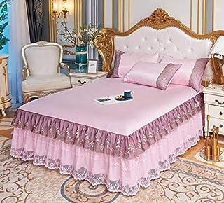 style shabby chic HomeLife Couvre-lit pour lit 1 place printemps-/ét/é en piqu/é motif c/œurs 1 place gris Singolo 170 x 280 cm rose 170x280 en coton jacquard fabriqu/é en Italie