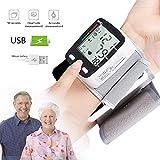 hibuy Wrist Blood Pressure Monitor Fully Automatic Digital Blood Pressure Cuff FDA Approved