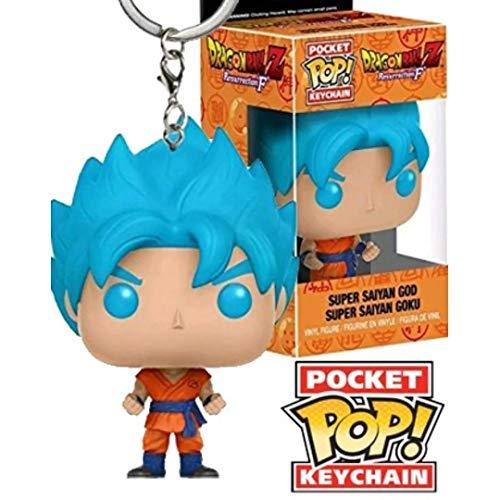 Funko 12520-pdq–Llavero de Super Saiyan Goku Dragon Ball Z
