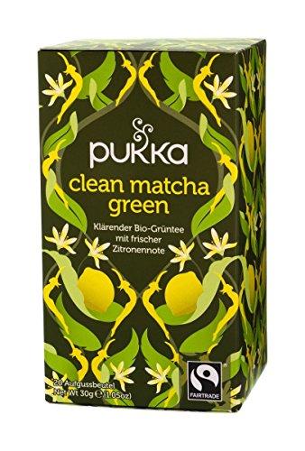 Pukka BIO Tee Clean Matcha Green, 20 Beutel