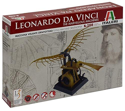 Italeri 3108 - Leonardo Da Vinci: Macchina Volante Ornitottero - Leonardo's Flying Machine (Ornithopter) Model Kit