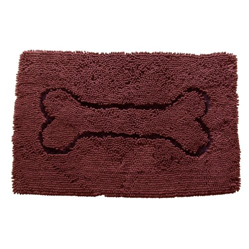Dog Gone Smart | Dirty Dog Doormat in Braun | L 90 x B 66 cm