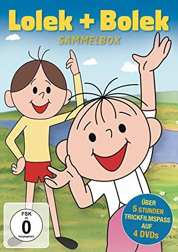 Lolek und Bolek - Sammelbox (4 DVDs)