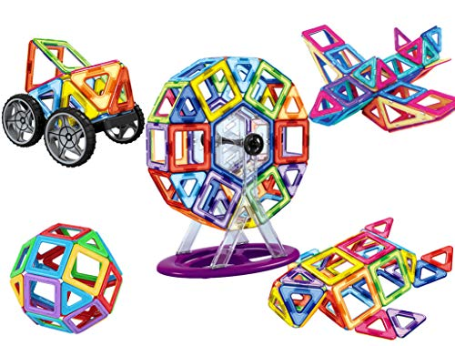dreambuilderToy 106 PCS Magnetic Tiles...
