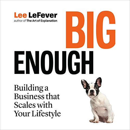 Big Enough Audiobook By Lee LeFever cover art