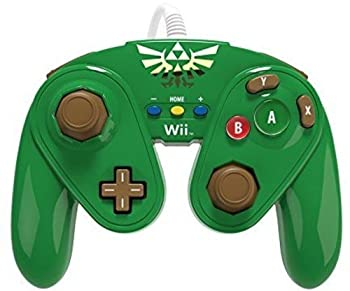 PDP Wired Fight Pad for Wii U - Link  Renewed