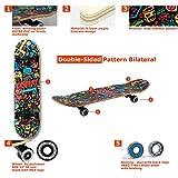 Zoom IMG-2 wellife skateboard rgx tavola skate