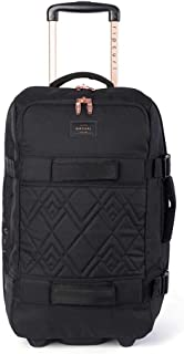 Rip Curl Women's Flight Transit Rose 50L Travel Bag Polyester Black