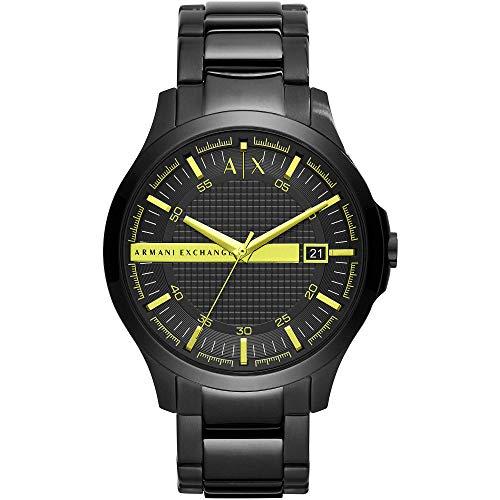 Armani Exchange Reloj Analógico para Hombre de Cuarzo con Correa en Acero Inoxidable AX2407