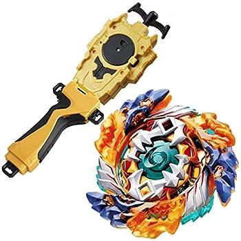 Bey Battle Evolution Blade Turbo Random String Launcher Grip God Bay B-122 Booster Spryzen Geist Fafnir.8  Spinning Top Games & Accessories Bey Burst Gaming Tops Battling Gyro Starter Set Gift for Boy