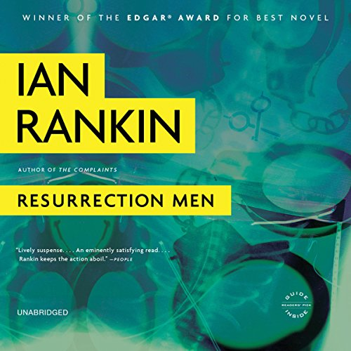 Resurrection Men  By  cover art