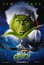 DR SEUSS' HOW THE GRINCH STOLE CHRISTMAS (2000) Original Authentic Movie Poster 27x40 - DS - Jim Carrey - Taylor Momsen - Jeffrey Tambor - Christine Baranski