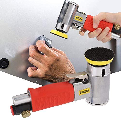 BINGFANG-W Discs Air Sander 2-3in Straight/Teilkern Pneumatische Poliermaschine Polierwerkzeug (Teilkern M6) Abrasive