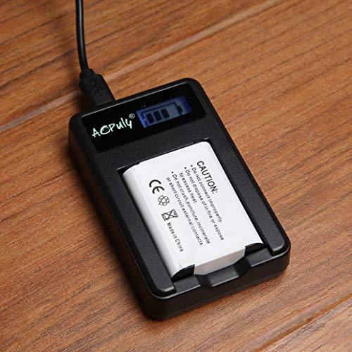 AOPULY New 1850mah 2-Pack Battery for Nikon EN EL23 EN-EL23 Battery + Dual Charger for Compatible with Nikon Coolpix P600 P610 B700 P900 S810c