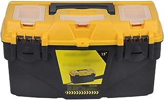 YIN YIN - Caja de almacenamiento de herramientas - caja de almacenamiento de herramientas de refuerzo de refuerzo de plást...