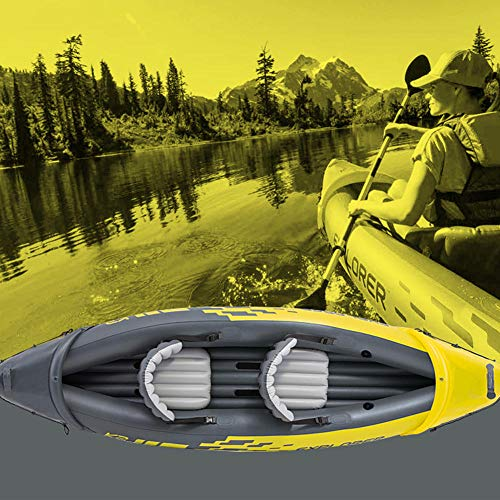 51PPN4hXZHL. SS500  - N/O Inflatable Kayak 2 Person, Kayak Set with Aluminum Oars and High Output Air Pump