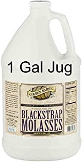 Golden Barrel Unsulfered Blackstrap Molasses (1 Gallon Jug)