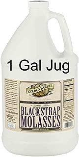 Golden Barrel Unsulfered Blackstrap Molasses (1 Gallon Jug)