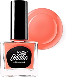 Little Ondine Water-Based Peel Off Odor Free Quick Dry Non-Toxic Natural Nail Polish-Pink 0.36 Fl Oz(L701-Sweet Peach)