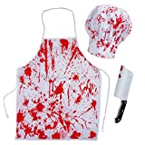 Tigerdoe Bloody Butcher Costumes - Scary Costumes - Halloween Costume - 3 Pc Set