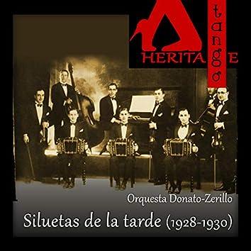 Siluetas de la tarde Edgardo Donato,  Roberto Zerrillo (1928-1930)