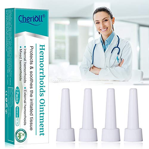 Hämorrhoiden Salbe|Hämorrhoiden Creme,für die intensive Haut-Pflege, 20g*2 Hilfsröhre x4