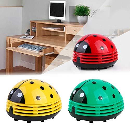 Ladybug Vacuum Cleaner,Mini Cute Portable Corner Desk Dust Vacuum Cleaner, Handheld Cordless...
