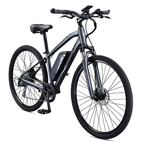 Schwinn Sycamore 350 Watt hub-Drive, Mountain/Hybrid, Electric Bike, 8 speeds, Mens Size (X-Large)