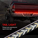 LncBoc Tailgate Light Bar 60 Inches Side Bed Light Strip 3528-450Led Waterproof Ip67