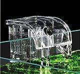 BPS - Filtro esterno per acquario, filtro sospeso per serbatoio pesci, esterno energia, sospensione a cascata, pompa di ossigeno 380 l/h, BPS-6077