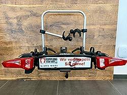 UEBLER I21 15900 Fahrradträger AHK Kupplungsträger 60° abklappbar für 2 Räder