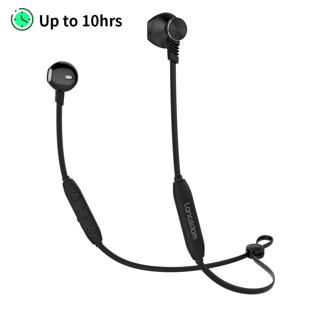 Langsdom L5 Auriculares Bluetooth IPX4 a Prueba de Sudor con ...